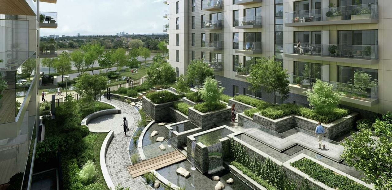Апартаменты в Лондоне, Великобритания, 54 м2 - фото 1