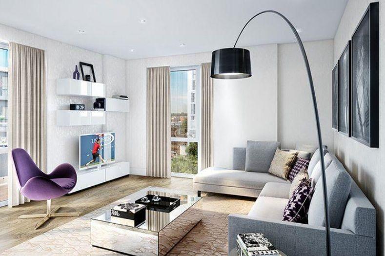 Апартаменты в Лондоне, Великобритания, 53 м2 - фото 1