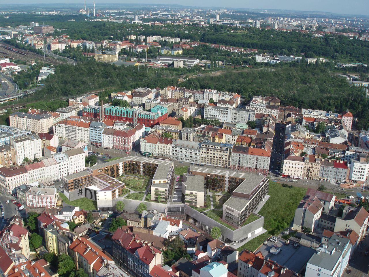 Доходный дом в Праге, Чехия, 2464 м2 - фото 1