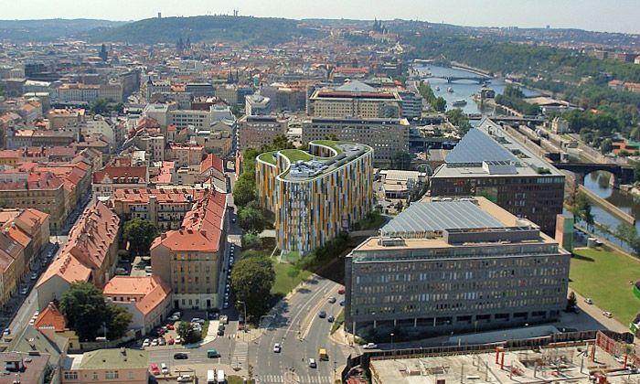 Доходный дом в Праге, Чехия, 2228 м2 - фото 1