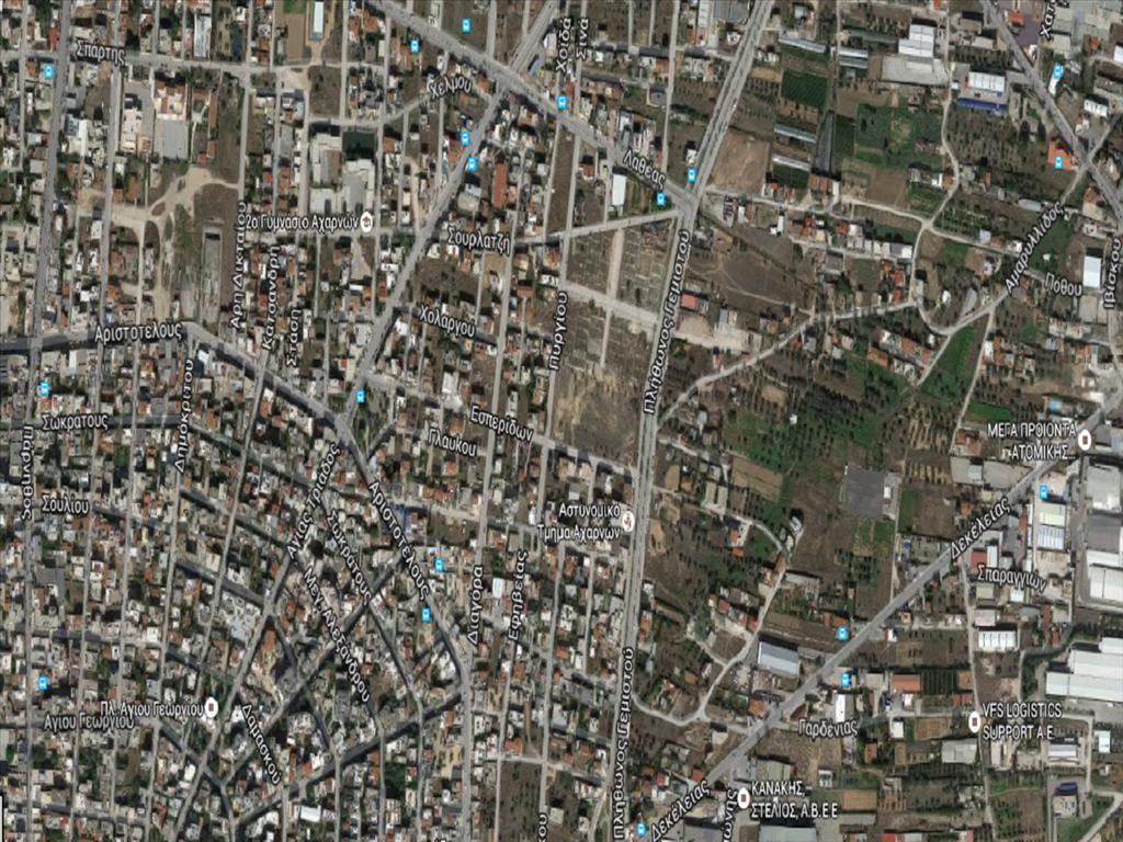 Земля в Аттике, Греция, 612 м2 - фото 1