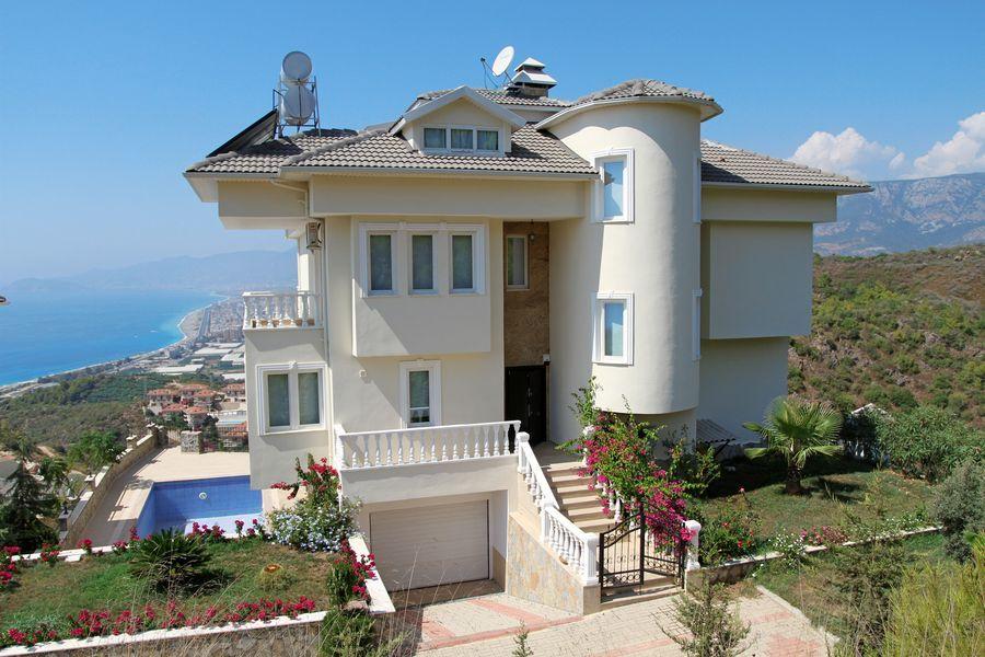 Вилла в Аланье, Турция, 530 м2 - фото 1