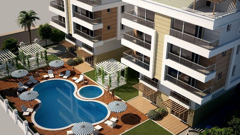 Квартира в Анталии, Турция, 76 м2 - фото 1