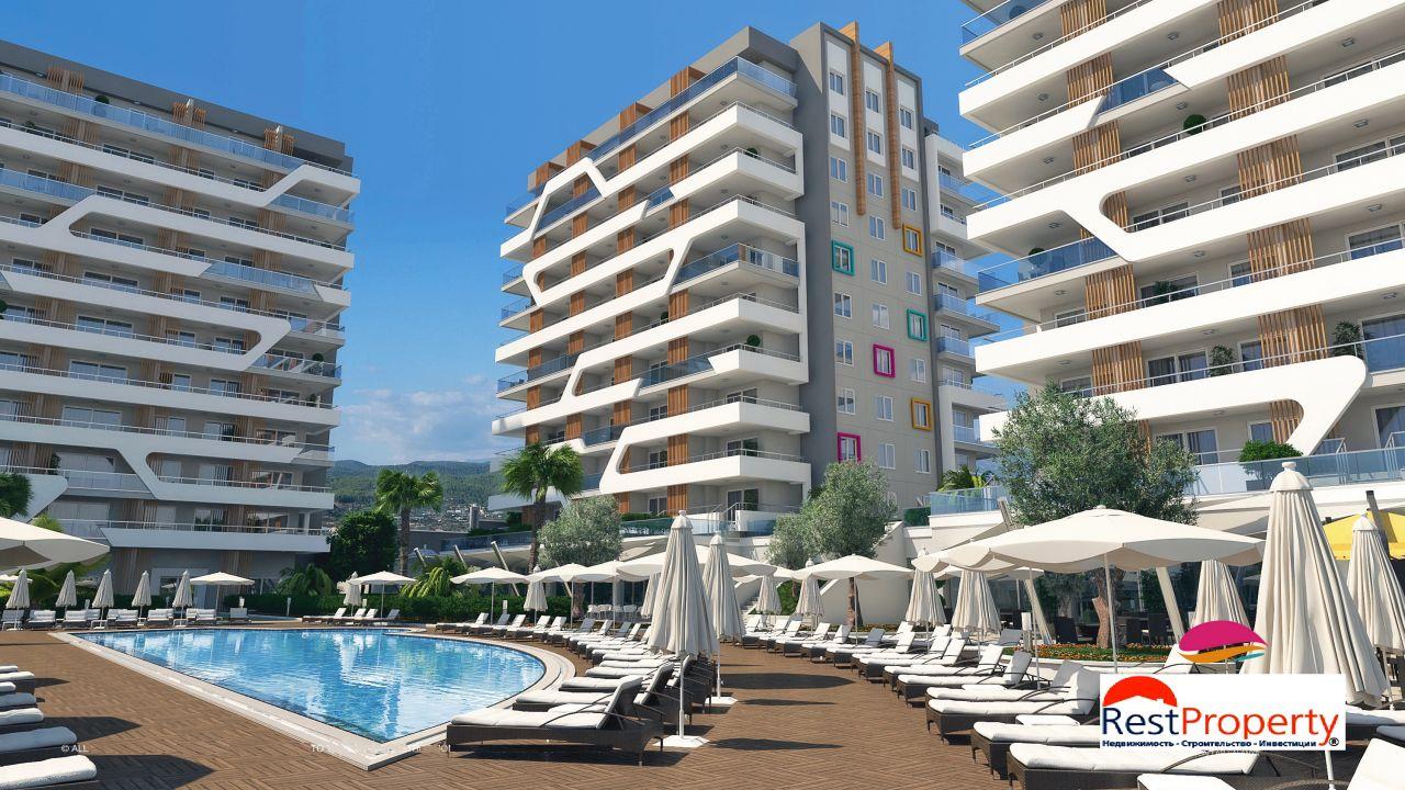 Квартира в Аланье, Турция, 37 м2 - фото 1