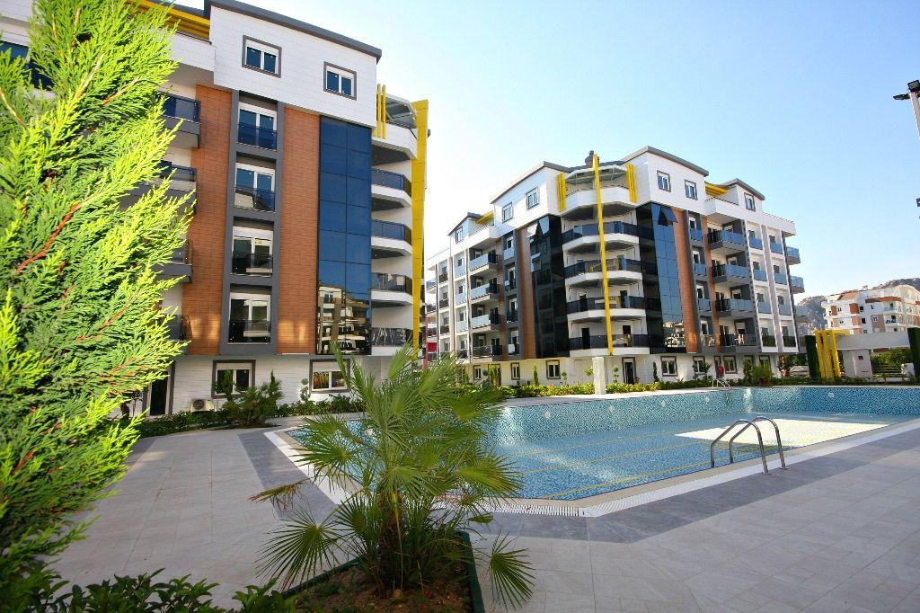 Квартира в Анталии, Турция, 53 м2 - фото 1