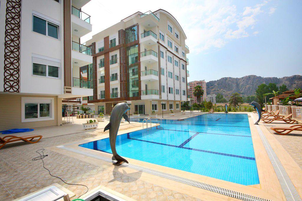 Квартира в Анталии, Турция, 45 м2 - фото 1