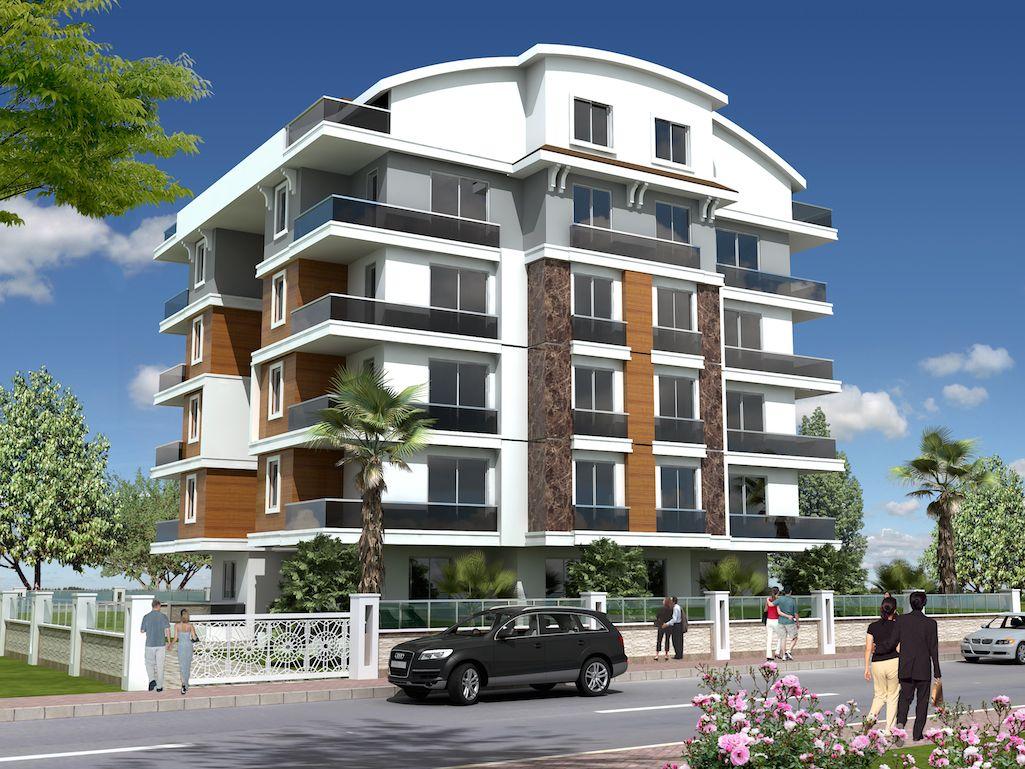 Апартаменты в Коньяалты, Турция, 60 м2 - фото 1