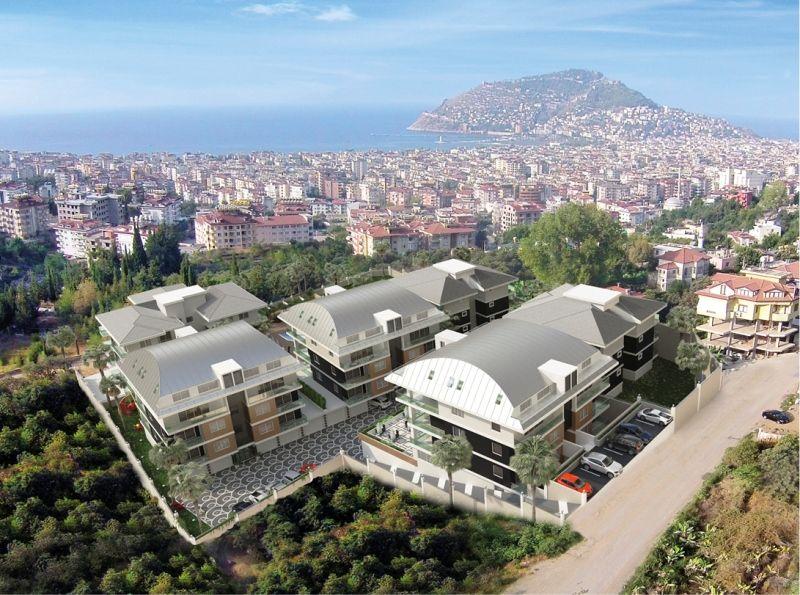 Квартира в Аланье, Турция, 185 м2 - фото 1