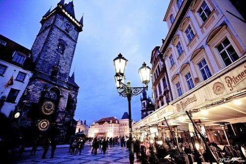 Отель, гостиница в Праге, Чехия, 1200 м2 - фото 1