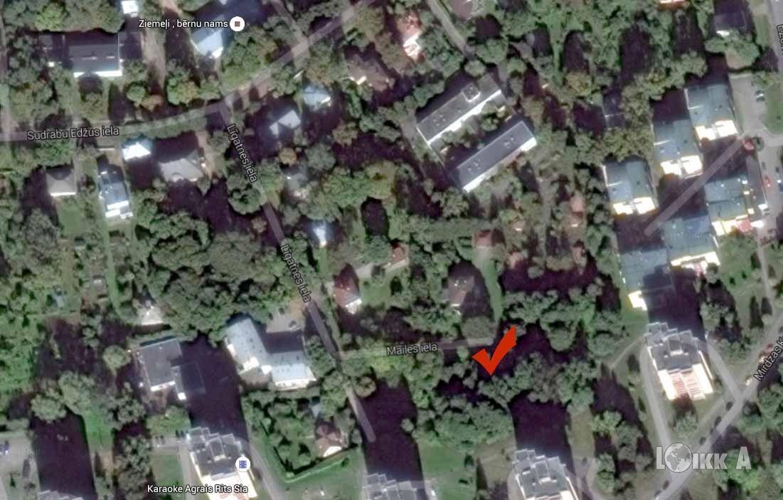 Земля в Риге, Латвия, 3500 м2 - фото 1