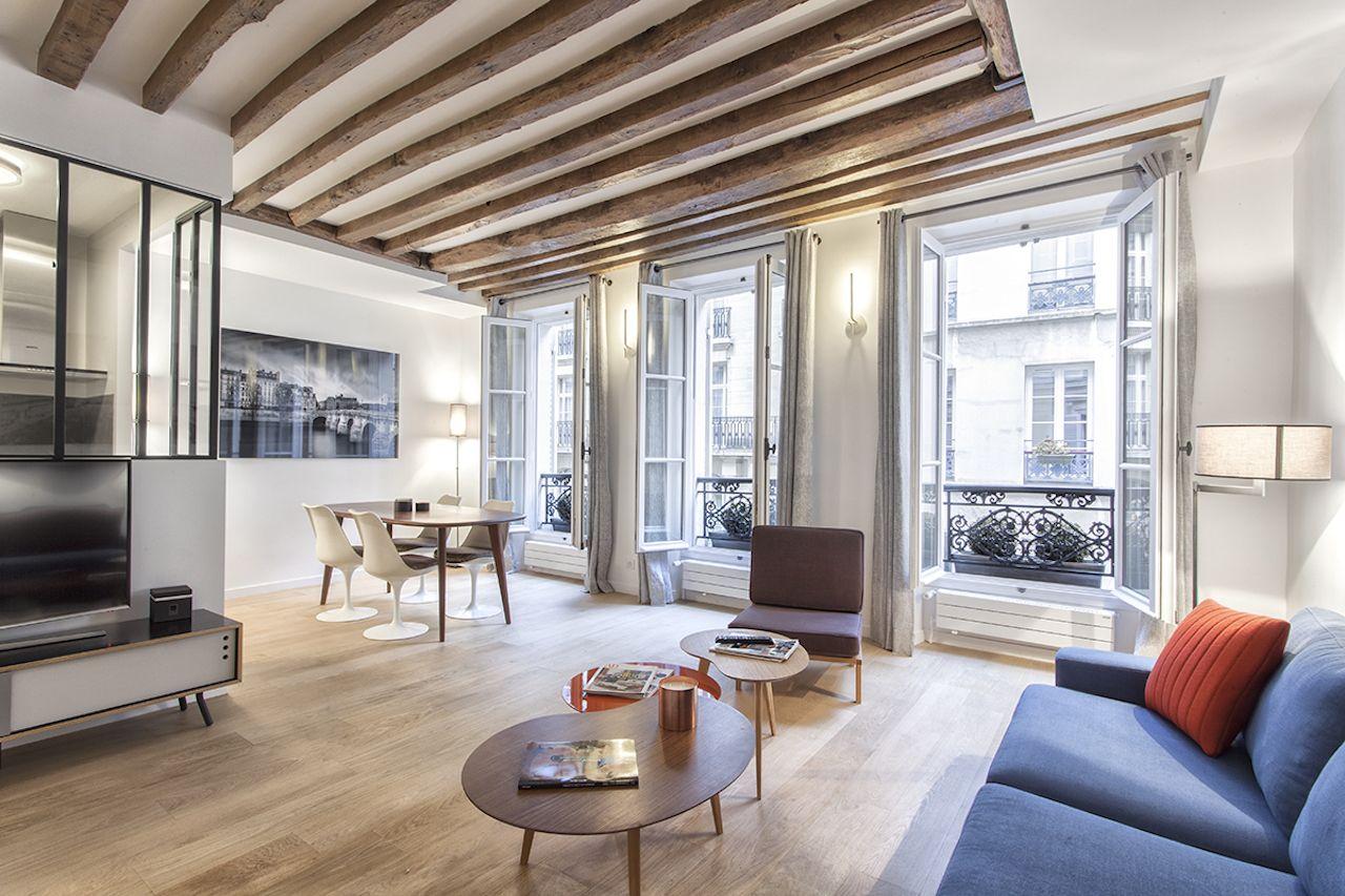 Квартира в Париже, Франция, 48 м2 - фото 1