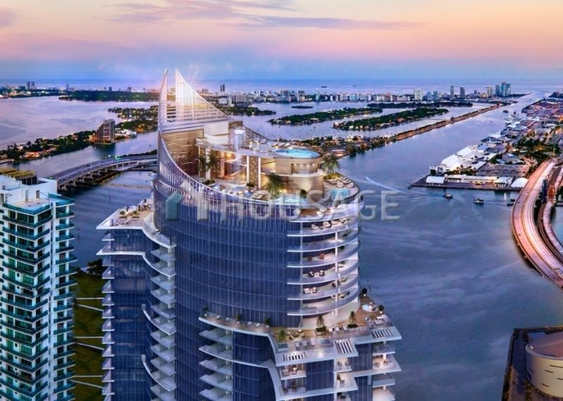 Квартира в Майами, США, 100 м2 - фото 1