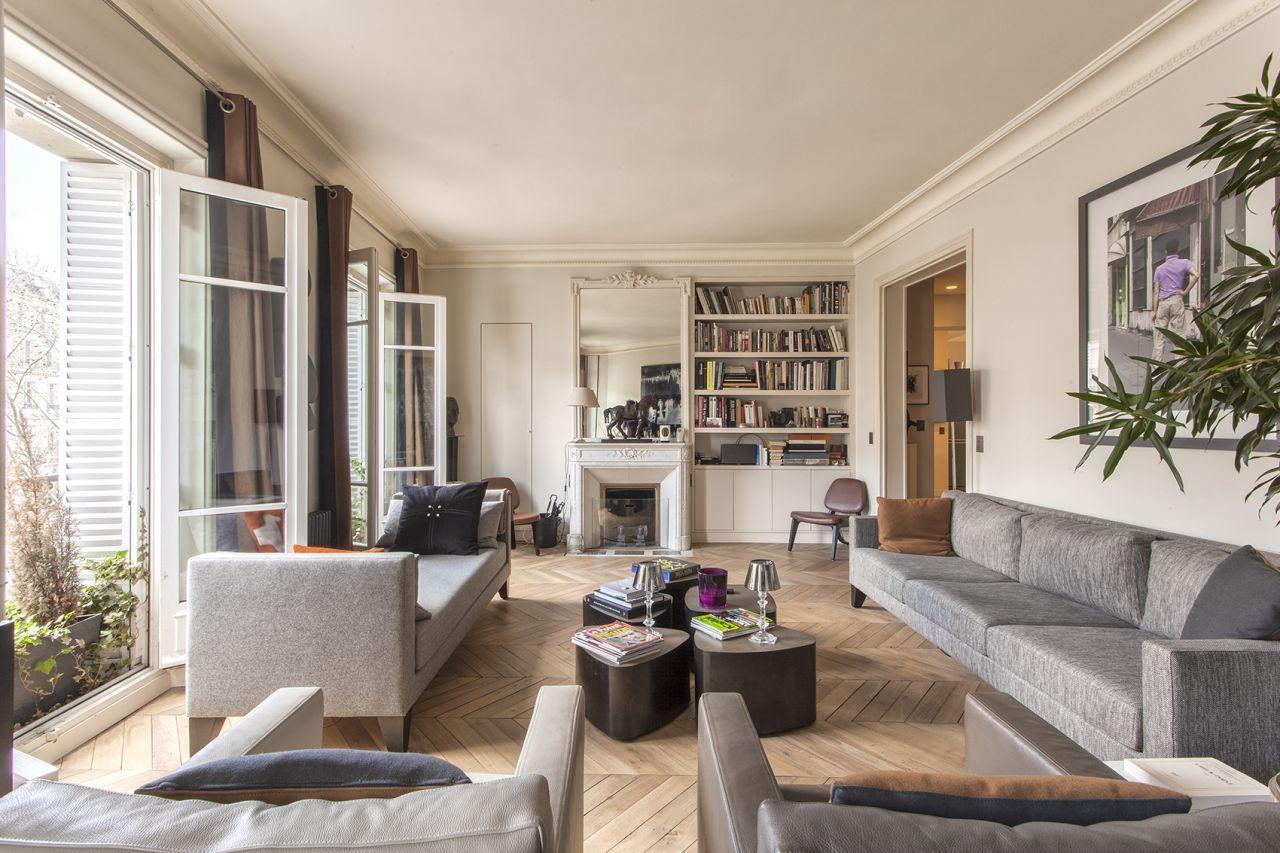 Квартира в Париже, Франция, 80 м2 - фото 1