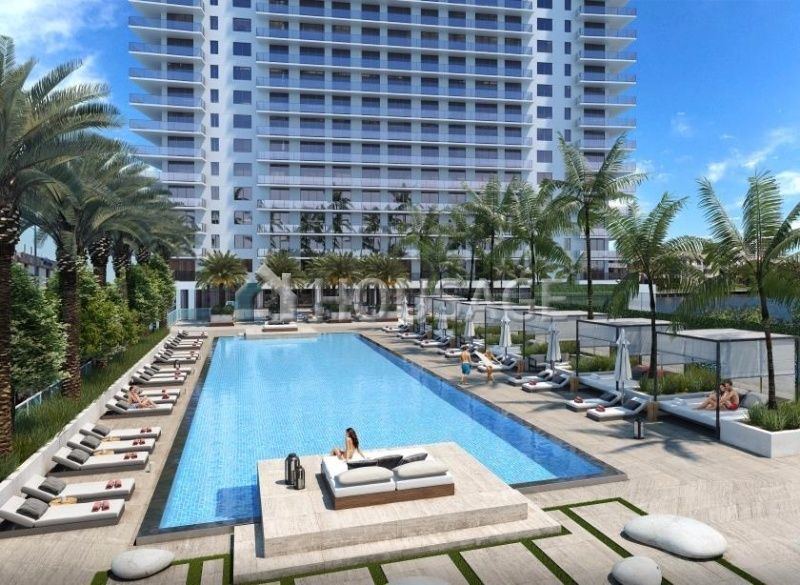 Квартира Голливуд, FL, США, 65 м2 - фото 1