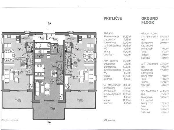 Квартира в Бледе, Словения, 173.93 м2 - фото 10