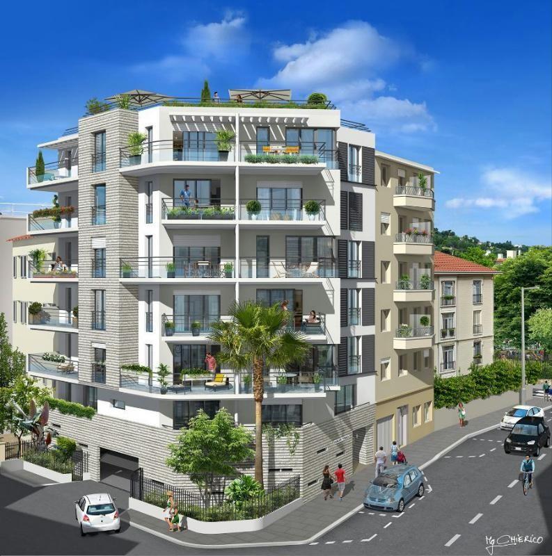 Апартаменты в Ницце, Франция, 44 м2 - фото 1