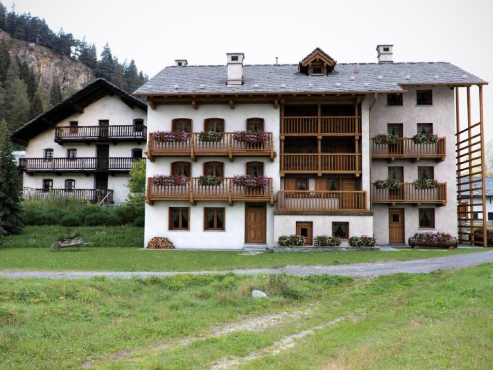 Апартаменты в Валле-д'Аоста, Италия, 52 м2 - фото 1