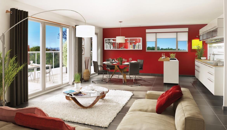 Апартаменты в Рона-Альпы, Франция, 84 м2 - фото 1