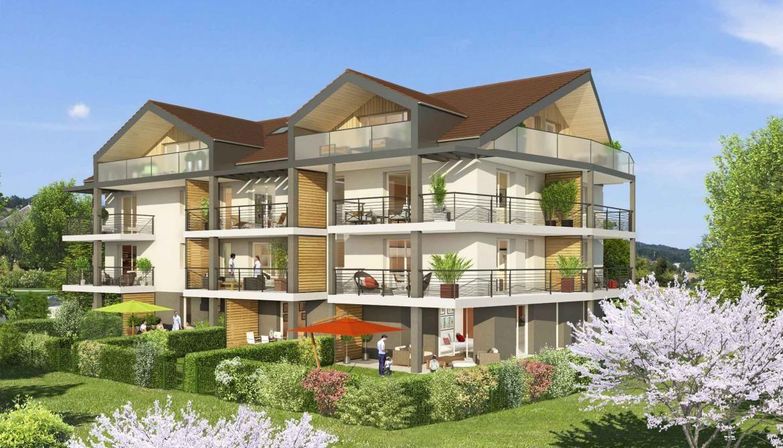 Апартаменты в Анси, Франция, 45 м2 - фото 1