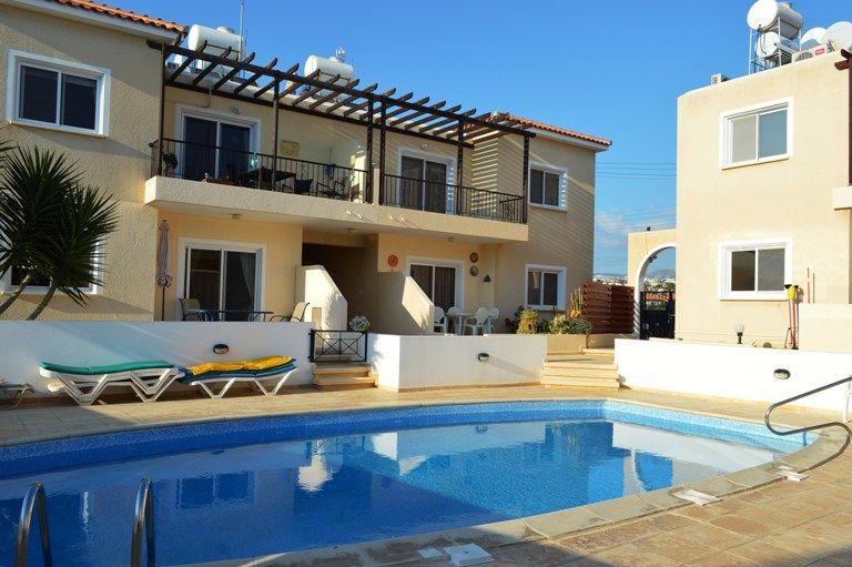 Апартаменты в Пафосе, Кипр, 56 м2 - фото 1