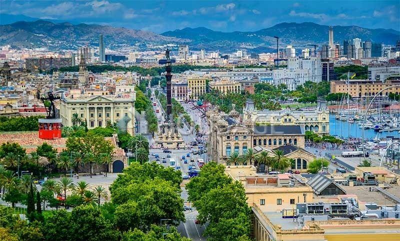 Земля в Барселоне, Испания, 1300 м2 - фото 1