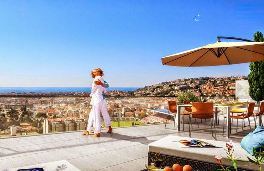 Апартаменты в Ницце, Франция, 84 м2 - фото 1