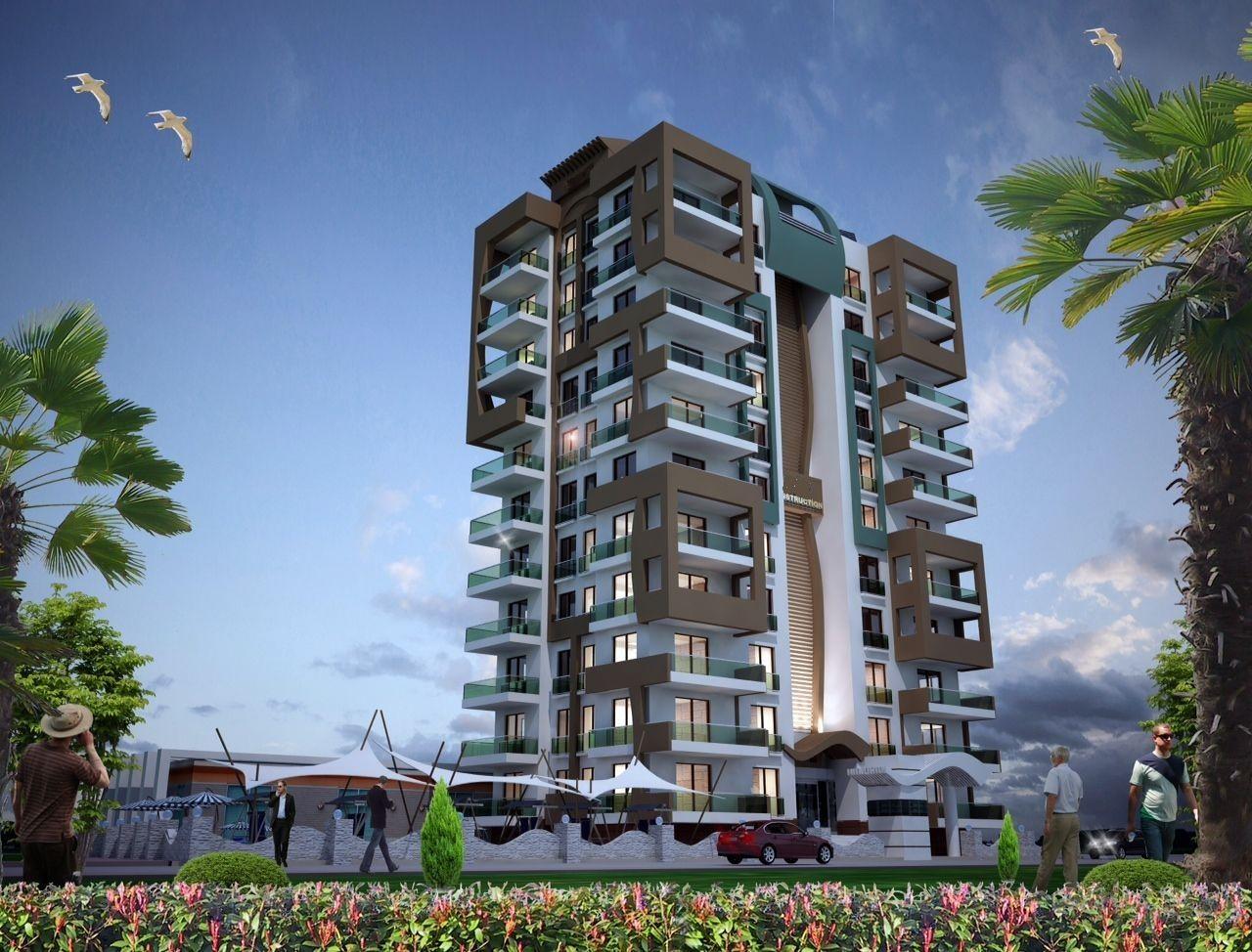 Апартаменты в Аланье, Турция, 75 м2 - фото 1