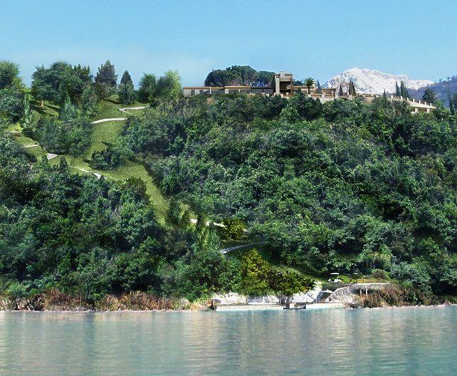 Вилла у озера Комо, Италия, 620 м2 - фото 1