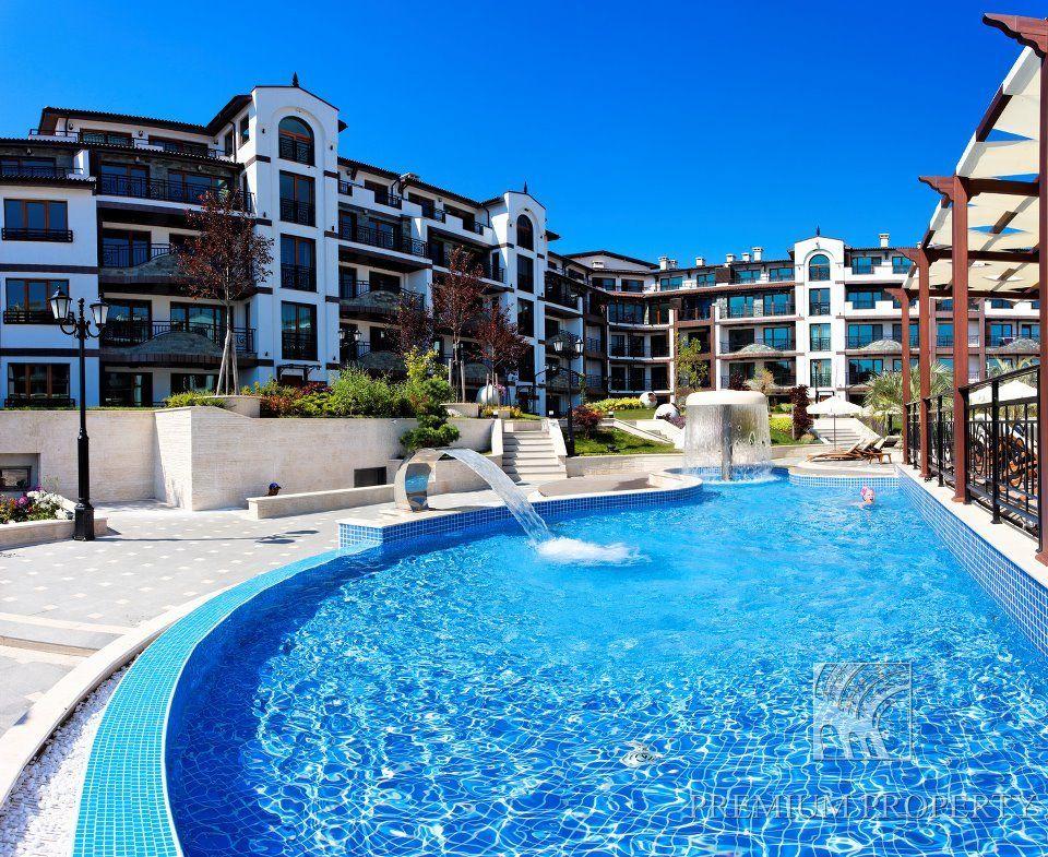 Апартаменты в Поморие, Болгария, 75.41 м2 - фото 1