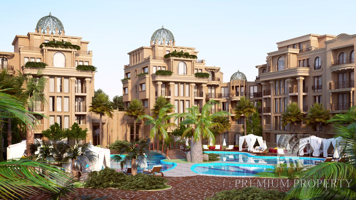 Апартаменты на Солнечном берегу, Болгария, 55.97 м2 - фото 1
