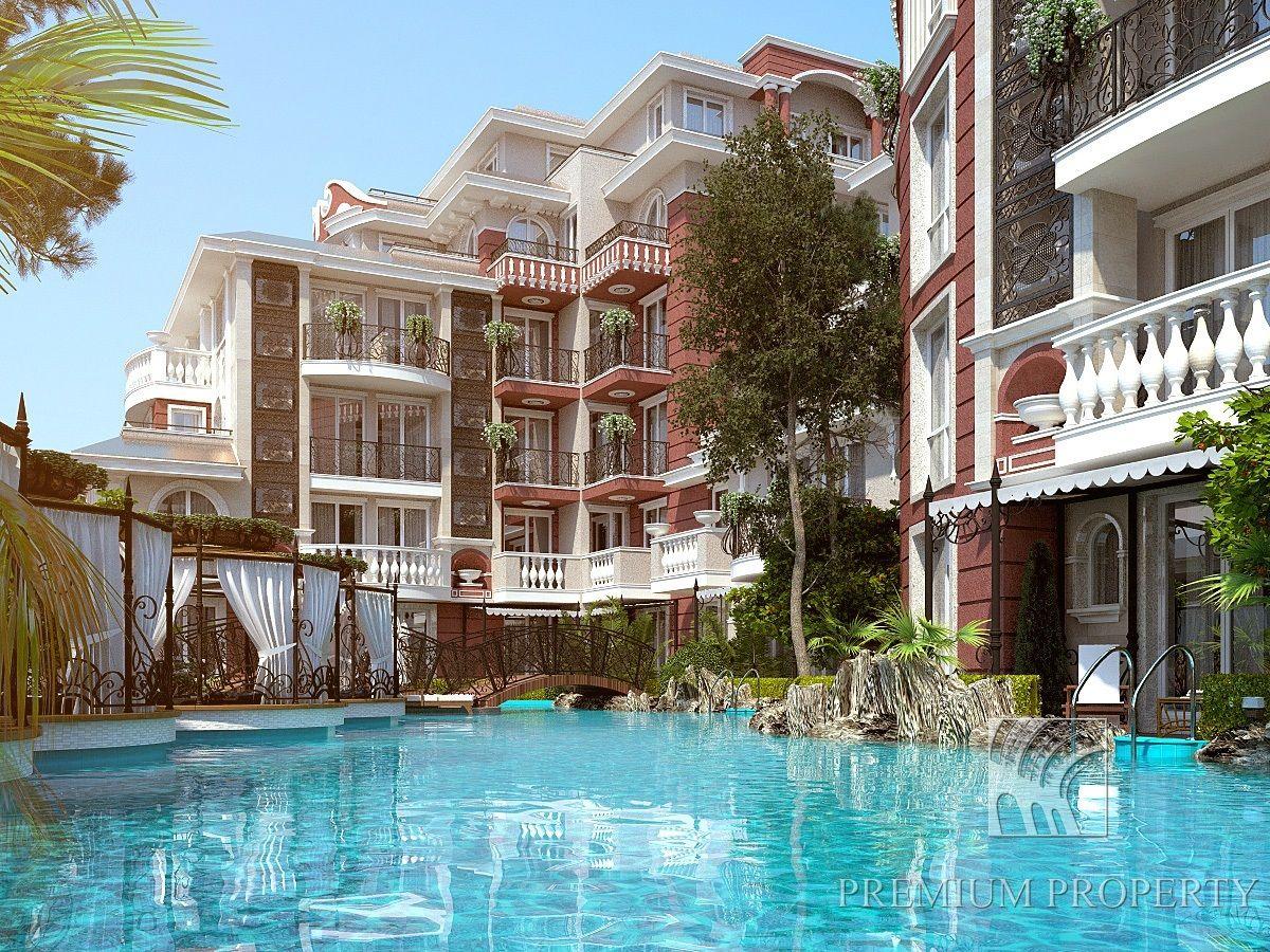 Апартаменты на Солнечном берегу, Болгария, 45.47 м2 - фото 1