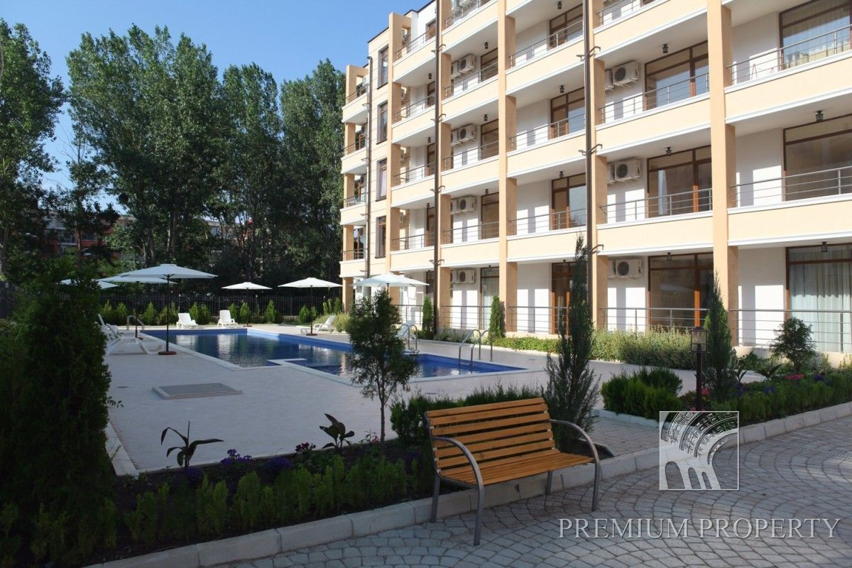 Апартаменты на Солнечном берегу, Болгария, 55.19 м2 - фото 1