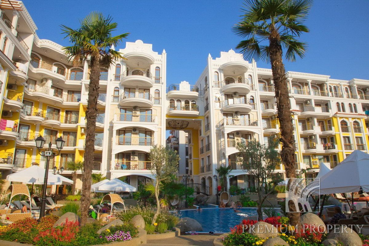 Апартаменты на Солнечном берегу, Болгария, 74.12 м2 - фото 1