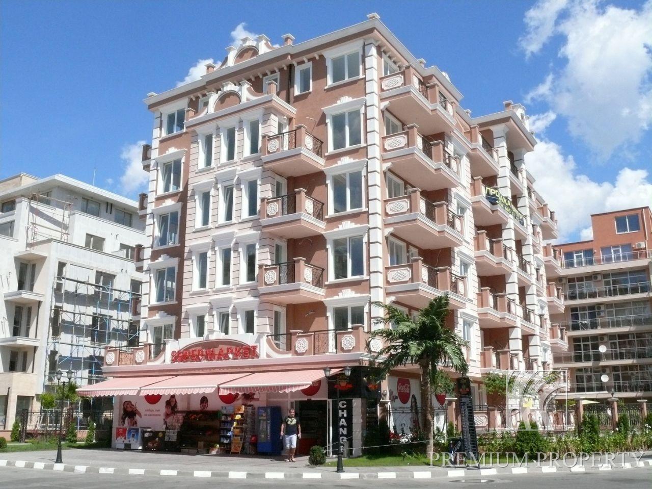 Апартаменты на Солнечном берегу, Болгария, 56.79 м2 - фото 1