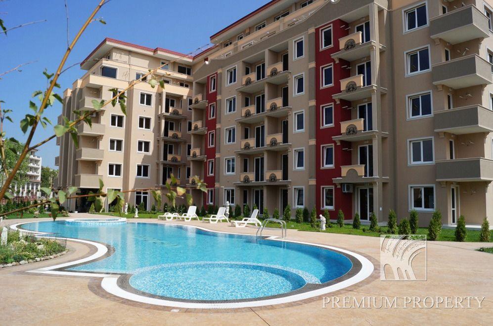 Апартаменты на Солнечном берегу, Болгария, 63.83 м2 - фото 1