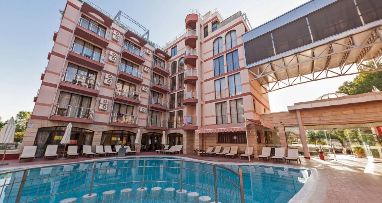 Апартаменты на Солнечном берегу, Болгария, 56.47 м2 - фото 1