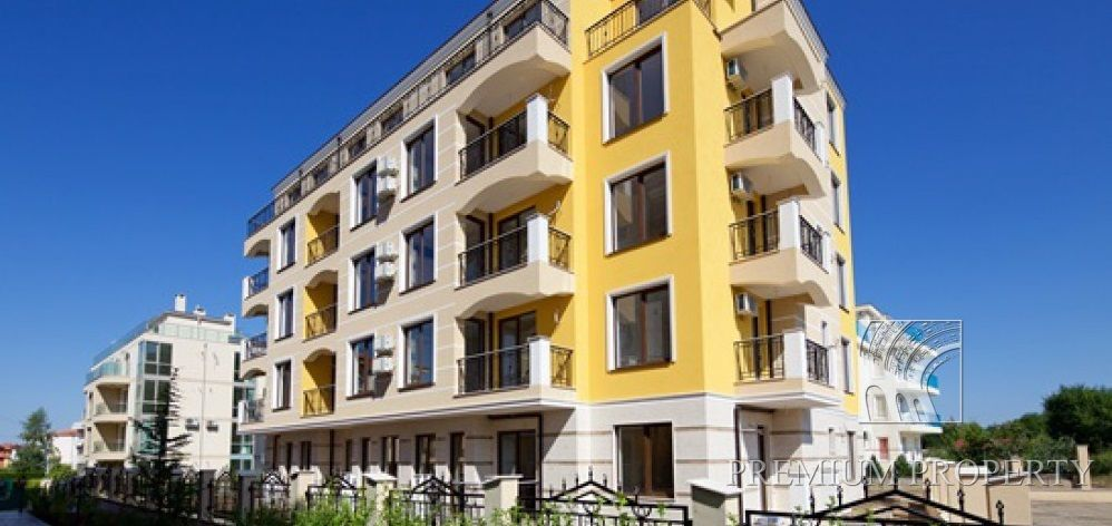 Апартаменты в Несебре, Болгария, 48.47 м2 - фото 1