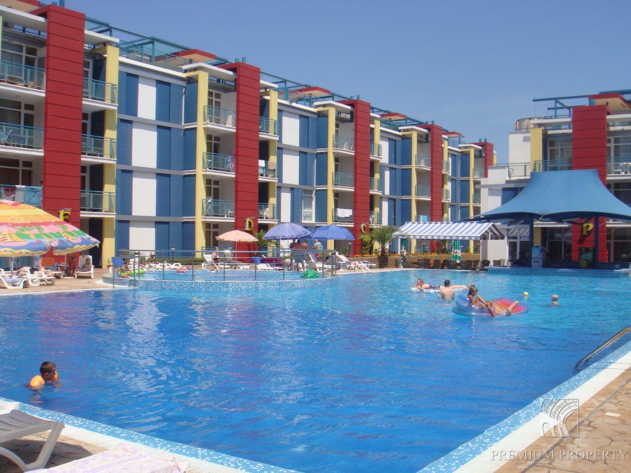 Студия на Солнечном берегу, Болгария, 41.98 м2 - фото 1
