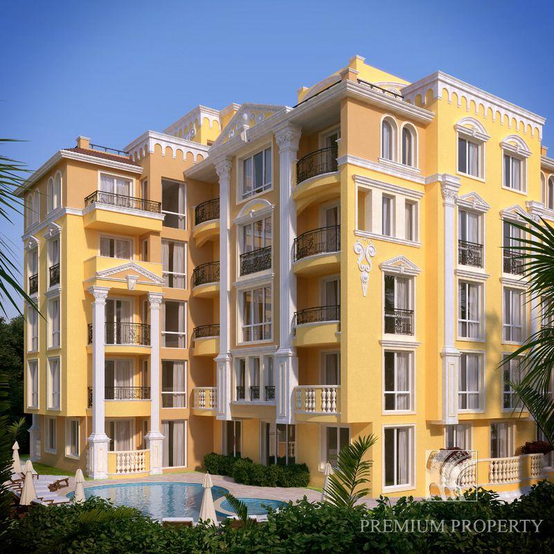 Апартаменты в Несебре, Болгария, 56.56 м2 - фото 1