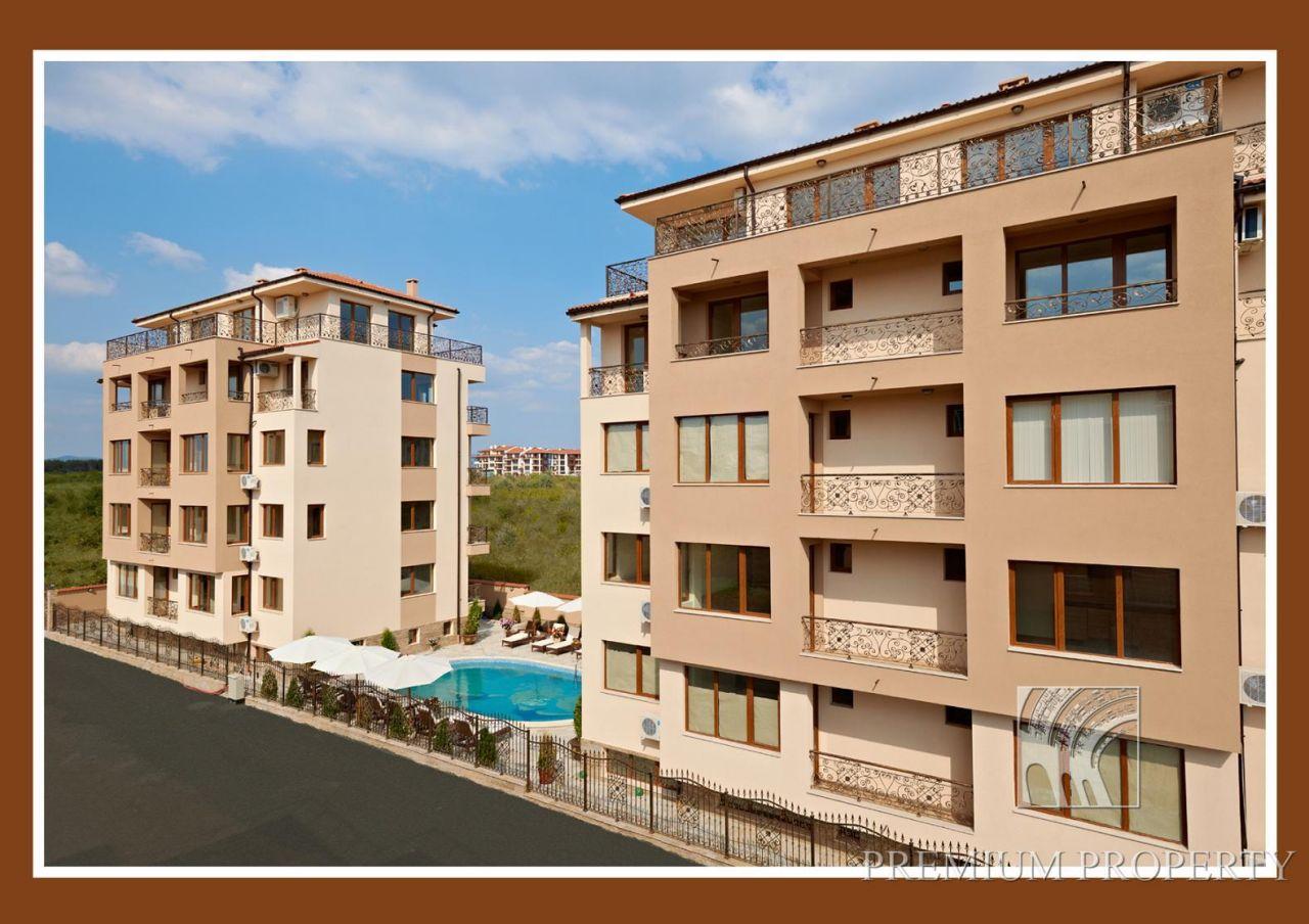 Апартаменты в Несебре, Болгария, 64.71 м2 - фото 1