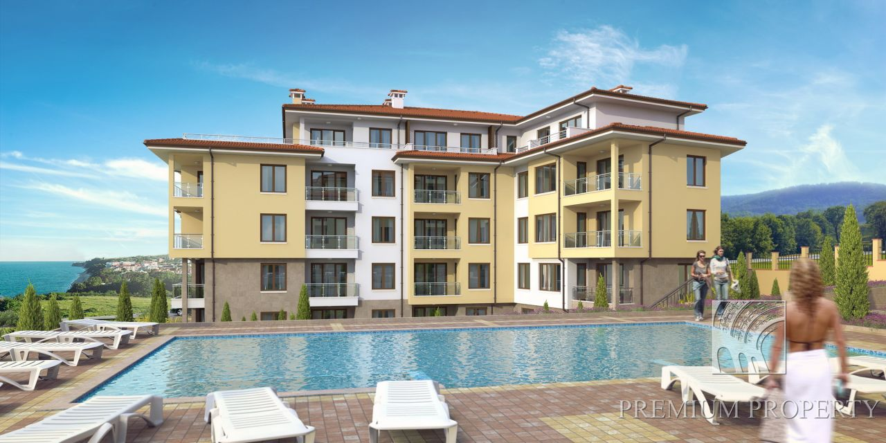 Апартаменты в Бяле, Болгария, 42.8 м2 - фото 1