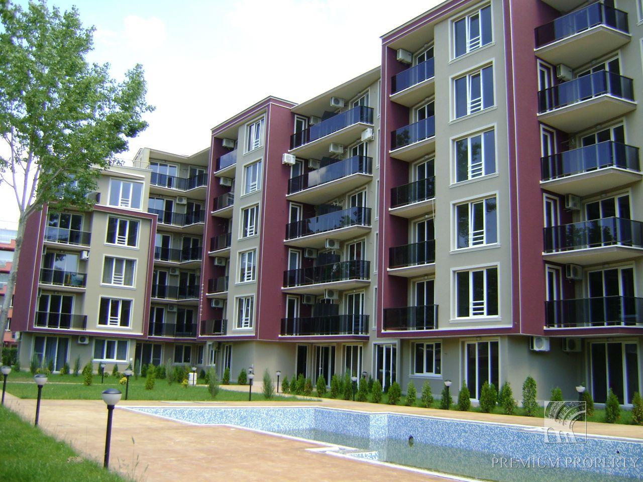 Апартаменты на Солнечном берегу, Болгария, 60.65 м2 - фото 1