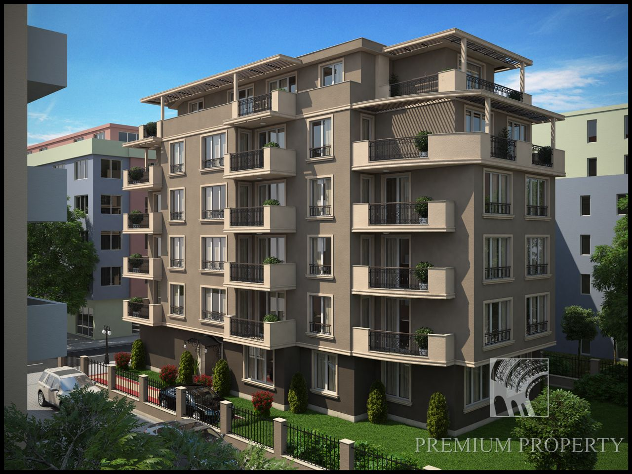 Апартаменты в Поморие, Болгария, 41.69 м2 - фото 1