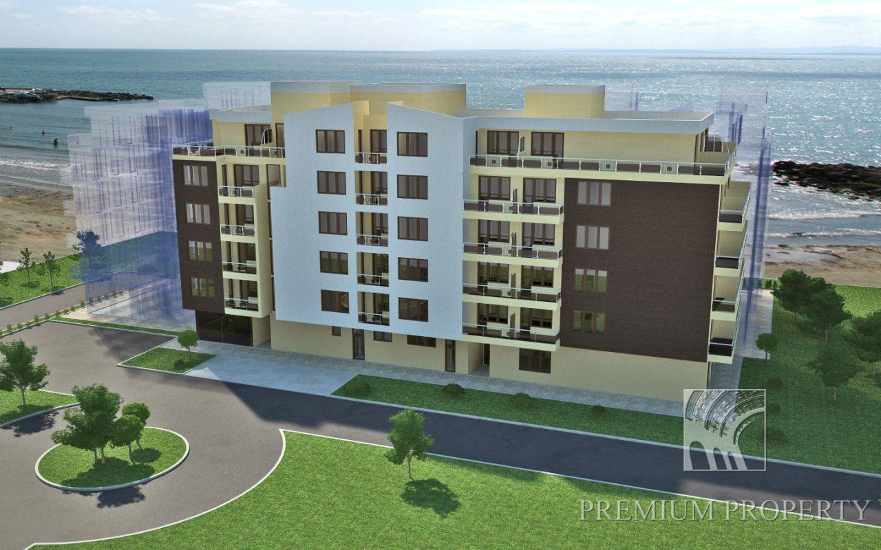 Апартаменты в Поморие, Болгария, 74.48 м2 - фото 1