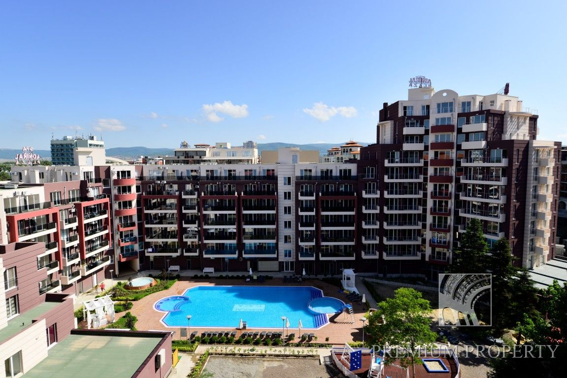 Апартаменты на Солнечном берегу, Болгария, 55.76 м2 - фото 1