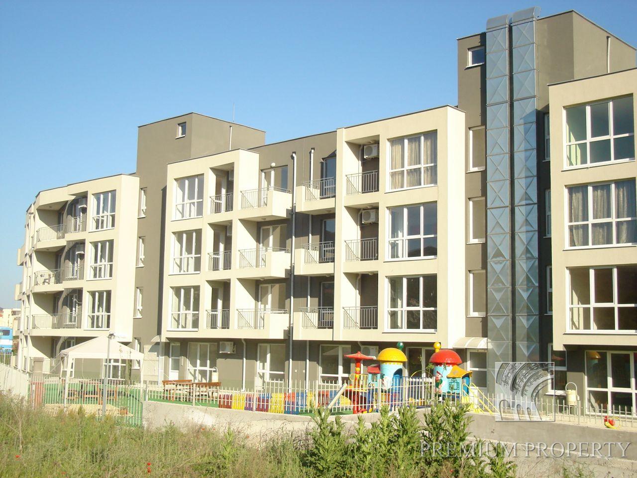 Апартаменты в Святом Власе, Болгария, 58.59 м2 - фото 1