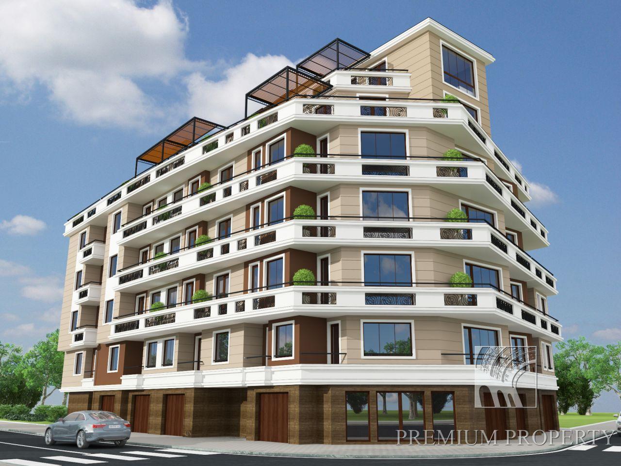Апартаменты в Поморие, Болгария, 63.38 м2 - фото 1