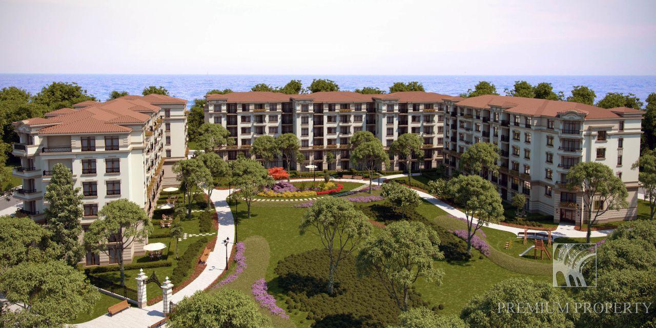 Апартаменты в Поморие, Болгария, 54.57 м2 - фото 1
