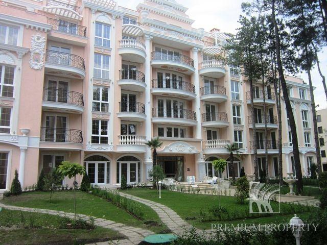 Апартаменты на Солнечном берегу, Болгария, 42.72 м2 - фото 1