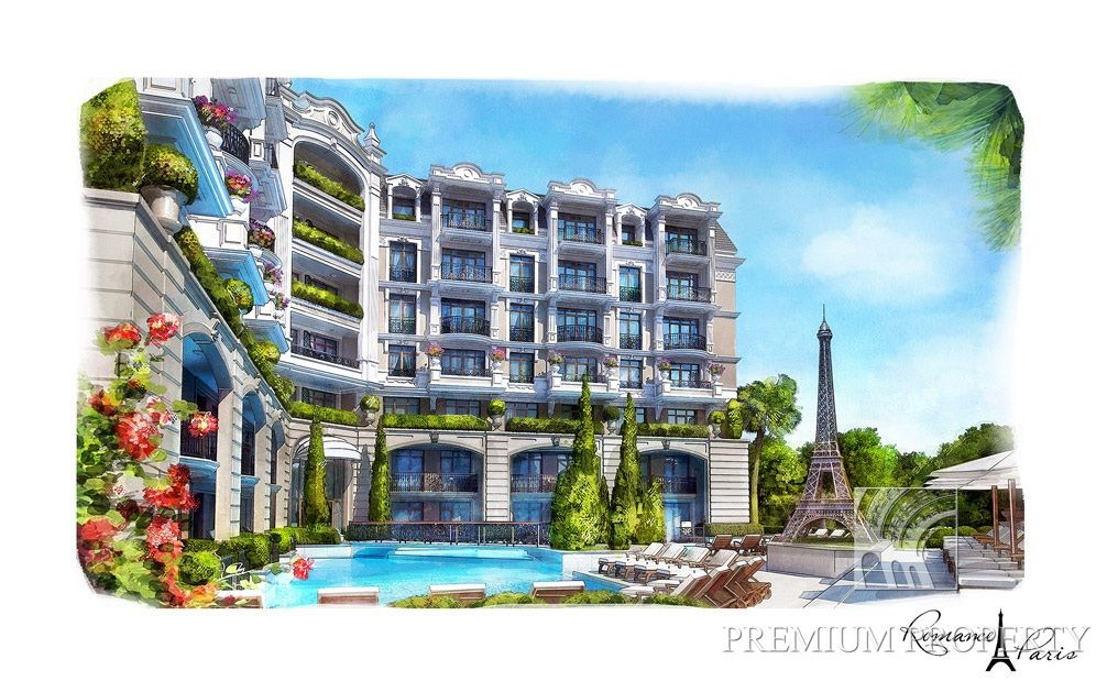 Апартаменты в Святом Власе, Болгария, 58.45 м2 - фото 1